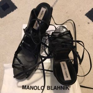 Magnolia Blahnik sandals in size 40